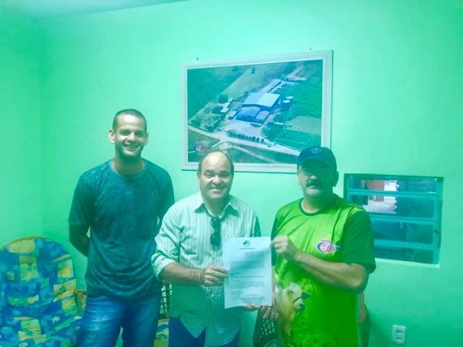 """Industria """"J Milho"""", da Cidade de Itabaiana, formaliza adesão ao Projeto de Coleta Seletiva do CPAC, visando a destinação dos seus Resíduos Recicláveis, para o Centro Regional de Triagem, visando a inclusão produtiva dos Catadores de Materiais Recicláveis"""