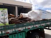 Cooperativa de Catadores de Materiais Recicláveis de Itabaiana - COORECI, fazem a colete no Shopping Peixoto, destinando para o Centro Regional de Triagem de Materiais Recicláveis do CPAC.