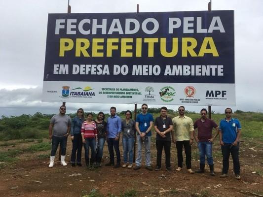 CPAC realiza visita técnica em lixão do município de Itabaiana.