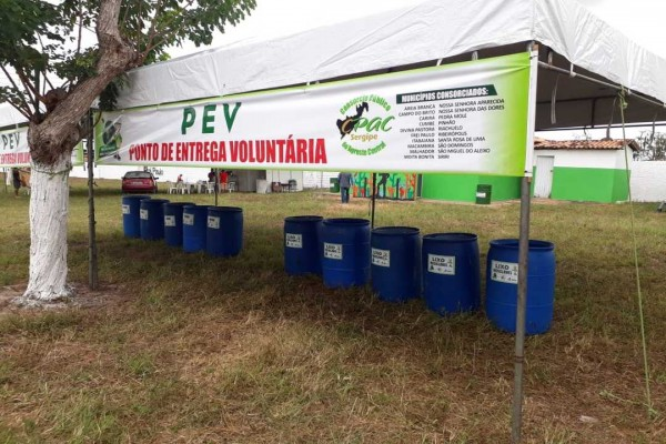 CPAC efetua Projeto de Coleta Seletiva com inclusão dos catadores de materiais recicláveis na 27ª Exposição Agropecuária de Frei Paulo