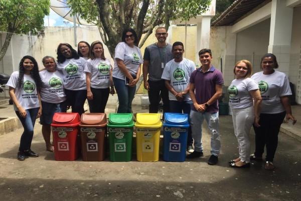 CPAC realiza palestra sobre Educação Ambiental e Coleta Seletiva em escola municipal de Divina Pastora