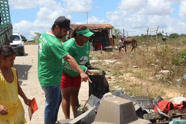 Cpac e prefeitura mobilizam combate à dengue no município de Siriri