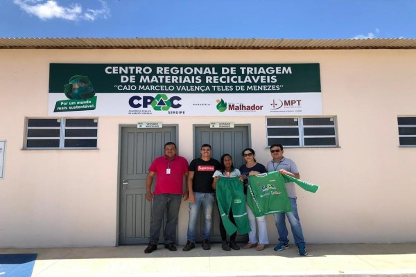 CPAC: Últimos preparativos para inauguração do Centro de Triagem de Materiais Recicláveis em Malhador