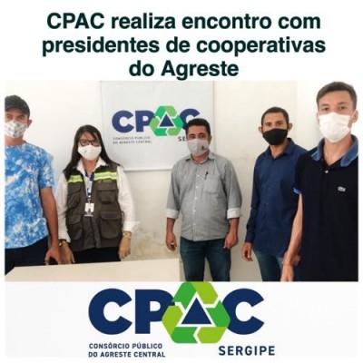 CPAC realiza encontro com presidentes de cooperativas do Agreste